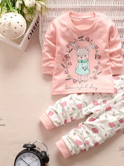 baby clothing set baby girls clothes long sleeve t-shirt + pants 2pcs suit cotton baby girl newborn clothing set - CelebritystyleFashion.com.au online clothing shop australia