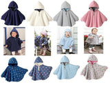 Fashion Baby Coats boys Girl's Smocks Outwear Fleece cloak Jumpers mantle Children's clothing Poncho Cape DD001 - CelebritystyleFashion.com.au online clothing shop australia