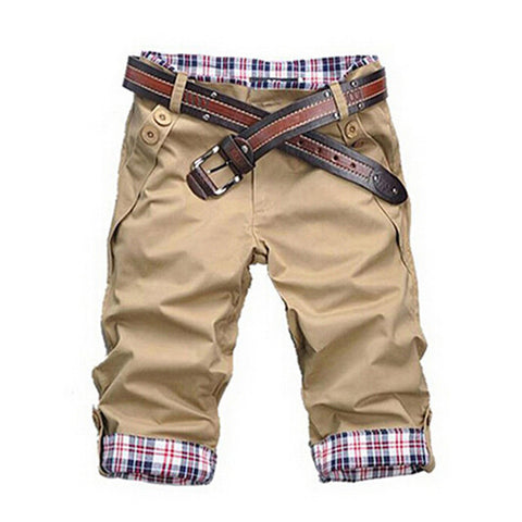 Men Shorts Men's Fashion Summer Wear Shorts Male Casual Solid Comfortable Shorts 10 Colors MKX079 - CelebritystyleFashion.com.au online clothing shop australia