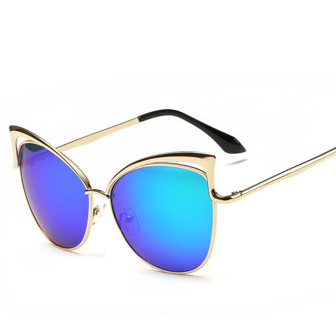 Fashion Cat Eyes Eyeglasses Women Mirror Lenses Sunglasses Women'S Glasses Valentine'S Day Gift 9 Colors Sunglass For Men - CelebritystyleFashion.com.au online clothing shop australia