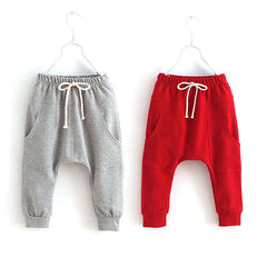 Toddler Child Jersey Harem Pants Baby Boy Bottoms Girl Elastic Trousers 2-7Y - CelebritystyleFashion.com.au online clothing shop australia