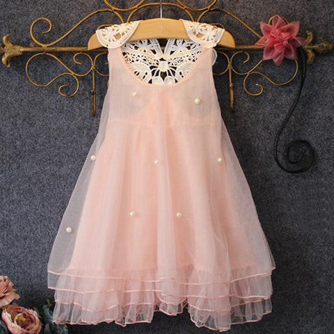 Baby Girl Clothes Summer Lace Flower Tutu Princess Kids Dresses For Girls Children Clothes Sets - CelebritystyleFashion.com.au online clothing shop australia