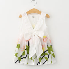 Summer Dresses Girls Dress Girl Clothes Vestidos Children Dress Sleeveless Princess Dresses for Girls - CelebritystyleFashion.com.au online clothing shop australia