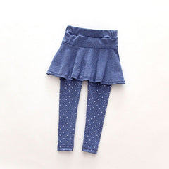 New Baby Kid Pantskirt Girl Wool Culotte Pants Child Legging Trousers Dress - CelebritystyleFashion.com.au online clothing shop australia
