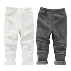 Baby Kids Girls Leggings Pants Basic Winter Warm Skinny Trousers Full Length - CelebritystyleFashion.com.au online clothing shop australia