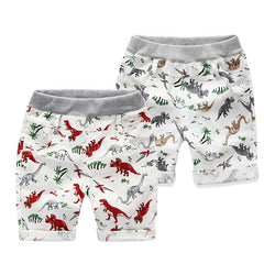 Loose Boys Shorts Summer Children Beach Wear Dinosaur Pattern Boys Bottom Pants 2~7 Ages Kids Boys Character Sports Shorts CI031 - CelebritystyleFashion.com.au online clothing shop australia