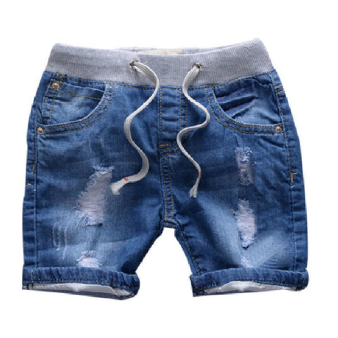 Ripped Jeans Shorts for Boy Summer Style Denim Boy's Panties New Jeans Shorts for Children 18M-8T, SC014 - CelebritystyleFashion.com.au online clothing shop australia