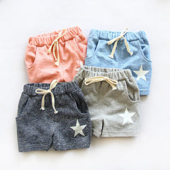 child clothing baby boy girl shorts five-pointed star colours Casual Summer - CelebritystyleFashion.com.au online clothing shop australia