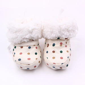 Fashion Winter Baby Boys Girls Cotton Shoes Plush Warm Shoes First Walkers Boots For 0-12 Months - CelebritystyleFashion.com.au online clothing shop australia