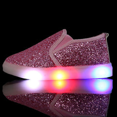 princess girls shoes with light new autumn led soft buttom fashion boys shoes girls sneakers kids sport led shoes for girls - CelebritystyleFashion.com.au online clothing shop australia