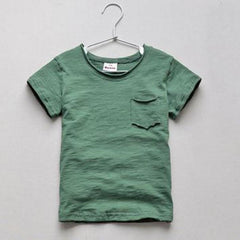 2-10 Years Summer Cotton Fiber Short Sleeve T-shirt Boys Clothing O-neck Children T Shirts - CelebritystyleFashion.com.au online clothing shop australia