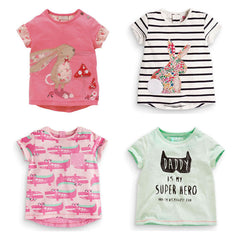 Baby Girls T-Shirts Clothing Children Toddler Kids Clothes Short Tees t Shirts Girls Summer - CelebritystyleFashion.com.au online clothing shop australia