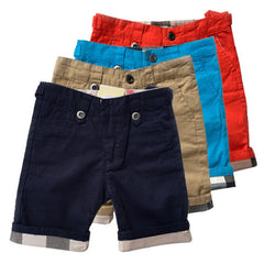 Summer boys shorts fashion short pants brand kids clothes button children clothing high quality - CelebritystyleFashion.com.au online clothing shop australia