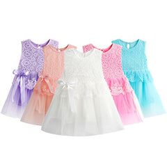 New Infant Baby Girl Tutu Dress Kids Cute Lace Flower Summer Party Princess Dresses baby girl Christmas Clothes Z3 - CelebritystyleFashion.com.au online clothing shop australia