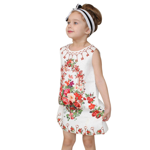 Girl Dress Flower Kids Clothes Children Clothing Brand Girls Clothes for Party Holiday Toddler - CelebritystyleFashion.com.au online clothing shop australia