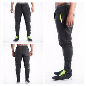Men Long Pants Cotton Men's Gasp Workout Fitness Pants Casual Sweatpants Jogger Pants Skinny Trousers - CelebritystyleFashion.com.au online clothing shop australia