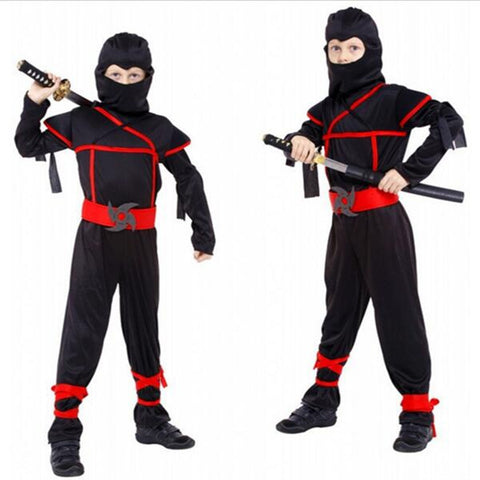 Classic Halloween Costumes Cosplay Costume Martial Arts Ninja Costumes For Kids Fancy Party Decorations Supplies Uniforms - CelebritystyleFashion.com.au online clothing shop australia