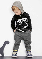 2015 new autumn fashion baby cartoon clothing sets hooded jacket + trousers suit for infant chilren boys girls pullover clothes - CelebritystyleFashion.com.au online clothing shop australia
