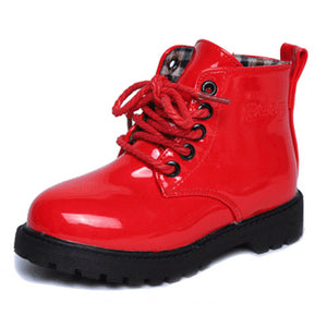 child leather boots female child martin boots boys shoes single shoes little girl spring baby boots - CelebritystyleFashion.com.au online clothing shop australia