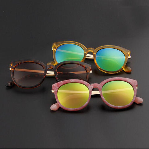 Fashion Kids Alloy Sunglasses Children Boys Girls UV400 Vintage Round Sun Glasses UV400 Sun Shade Eyeglasses Brand Sunglass - CelebritystyleFashion.com.au online clothing shop australia