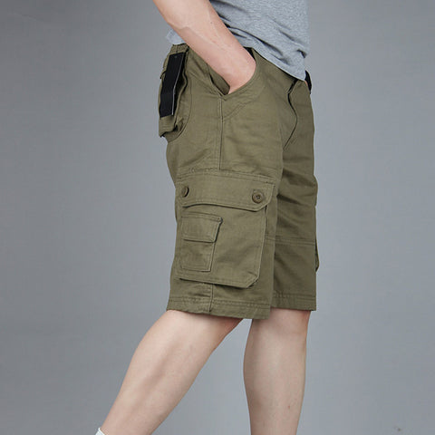 Summer Men's Army Cargo Work Casual Bermuda Shorts Men Fashion Joggers Overall Squad Match Trousers Plus size - CelebritystyleFashion.com.au online clothing shop australia