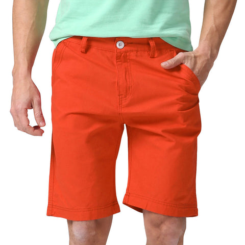 Men Shorts Straight Knee Length Zipper Shorts Plus Size Brand Fashion Casual Bermuda Masculina White Black Green Red Y1030 - CelebritystyleFashion.com.au online clothing shop australia