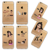 Kardashian KIMOJI Crying Face Phone Case Cover For iPhone 4 4S 5 5S SE 5c 6 6s 6Plus 6sPlus - CELEBRITYSTYLEFASHION.COM.AU - 1