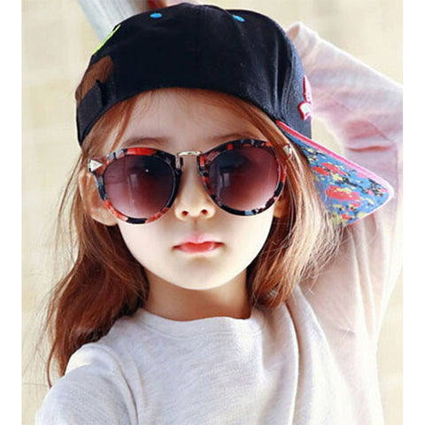 Arrow Kids Sunglasses New Fashion Korean Sunglasses UV400 Retro Round Frame Glasses For Children - CelebritystyleFashion.com.au online clothing shop australia