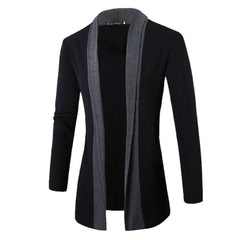 Spring Cotton Men Jacket Slim Long Sleeve Casual stand Collar Man Casual Clothes DM#6 - CelebritystyleFashion.com.au online clothing shop australia