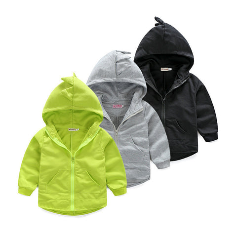 Autumn new dinosaur hoodies jackets boys girls jacket outerwear baby antumn long sleeve spring children coat Sweatshirts - CelebritystyleFashion.com.au online clothing shop australia