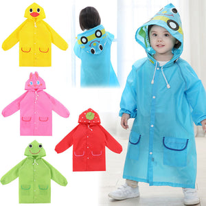 Poncho New Waterproof Kids Rain Coat For children Raincoat Rainwear/Rainsuit,Kids boy girl Animal Style Raincoat W1S1 - CelebritystyleFashion.com.au online clothing shop australia