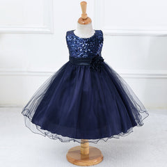 3-15Y Girls Dresses Children Ball Gown Princess Wedding Party Dress Girls Summer Party Clothes High Quality - CelebritystyleFashion.com.au online clothing shop australia