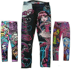 New Kids Children Clothes Monster High Girls Leggings Pencil Pants Trousers - CelebritystyleFashion.com.au online clothing shop australia