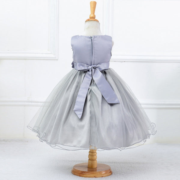 8a14a25ebfa 3-15Y Girls Dresses Children Ball Gown Princess Wedding Party Dress Girls  Summer Party Clothes
