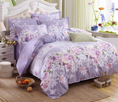 3/4pc Bedding Sets Size for Twin Full Queen king Home Hotel Bed Linen Bed Sheets Duvet Cover Set-33 colors