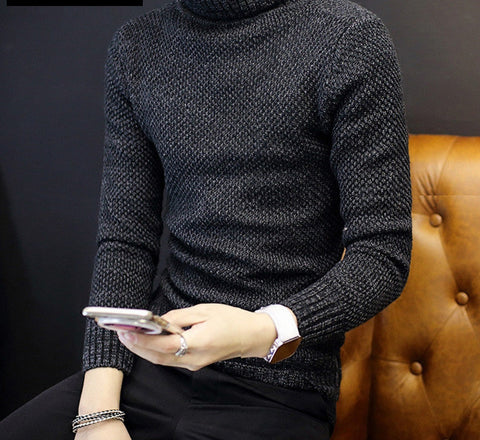 New Autumn Fashion Brand Men Sweaters Pullovers Knitting Thick Warm Designer Slim Fit Casual Knitted Man Knitwear Plus Size - CelebritystyleFashion.com.au online clothing shop australia