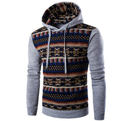 Hoodies Mens Hombre Hip Hop Male Brand Hoodie Fashion Geometric Print Sweatshirt Suit Men Slim Fit Men Hoody XXL EYRV - CelebritystyleFashion.com.au online clothing shop australia