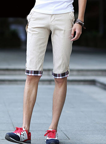 New Fall Men Cropped Trousers Fashion Men's Leisure Pocket Trousers - CelebritystyleFashion.com.au online clothing shop australia