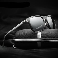 Retro Aluminum outdoor mirror Polarized Sunglasses Men Women brand designer Vintage Eyewear Fishing Sun Glasses 6108 - CelebritystyleFashion.com.au online clothing shop australia