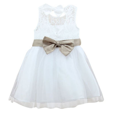 Lovely 2-7 Years Girls Kids Wedding Party Long Gown Tutu Tulle Princess Dress - CelebritystyleFashion.com.au online clothing shop australia
