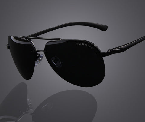 Brand Men 100% Polarized Aluminum Alloy Frame Sunglasses Fashion Men's Driving Sunglasses S'8281 - CelebritystyleFashion.com.au online clothing shop australia