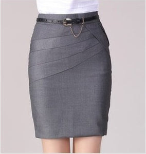 Autumn Winter Women Skirts Office Formal Pencil Skirts Casual Sexy Slim High Waist Knee-Length Midi Skirt Saia Plus Size - CelebritystyleFashion.com.au online clothing shop australia