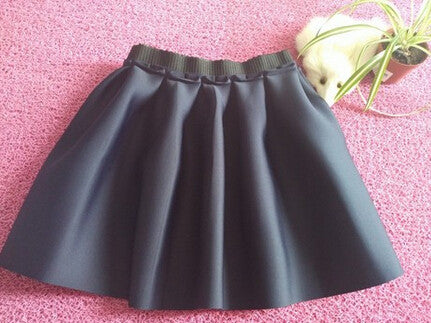 navy / One SizeHigh Street Women Mini Skirt Ball Gown Underskirt High Waist Pleated Skirt For Girls 1D30