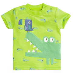 Boys T shirt Cartoon Car Cotton Tops O Neck Kids Short Sleeve T-Shirts Boys Clothes Baby Children Summer Clothing - CelebritystyleFashion.com.au online clothing shop australia