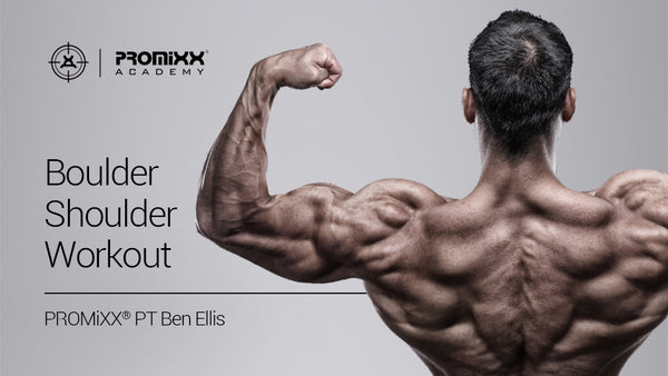 Boulder Shoulder Workout