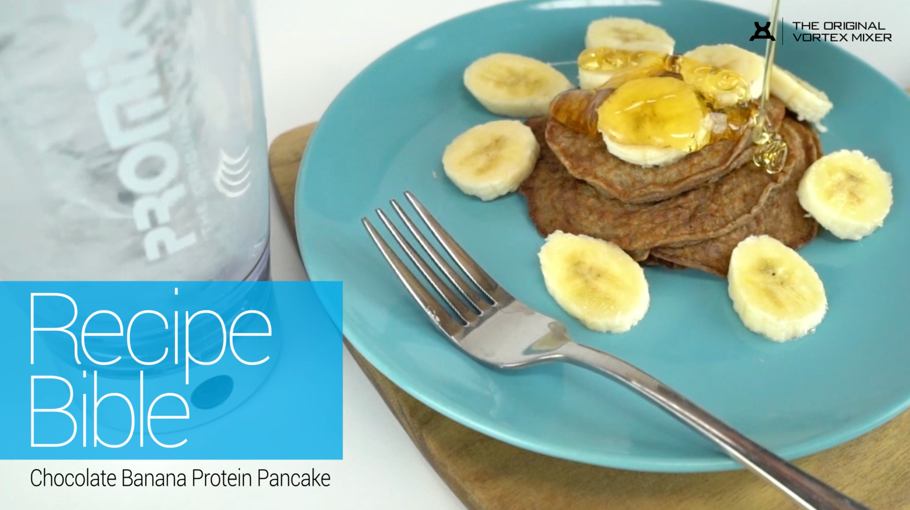Chocolate Banana Protein Pancakes Recipe