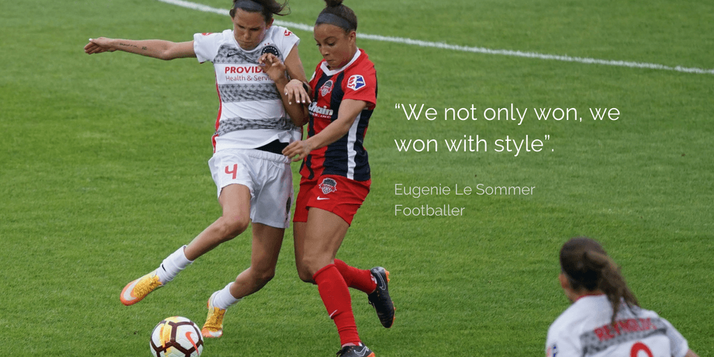 Eugenie Le Sommer quote