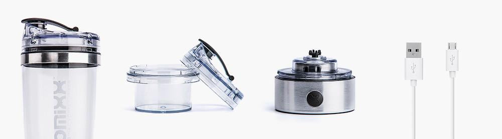 Stainless Steel Rechargeable Vortex Mixer