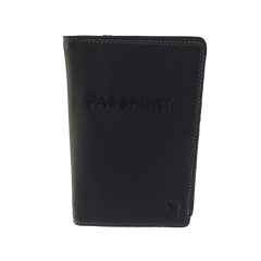 Leather Passport and Card Case|Port-Passport en Cuir