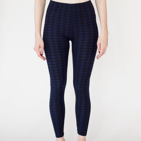 Leggings Blue with a Pattern | Leggings Bleu avec un Motif